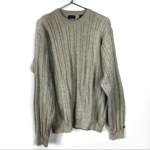 3/$25 IZOD Cable Knit Crew Neck Sweater